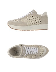 D'acquasparta Low Tops And Trainers Beige
