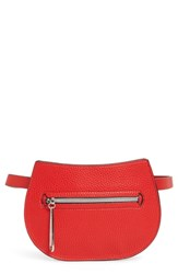 Danielle Nicole Trish Faux Leather Belt Bag Red