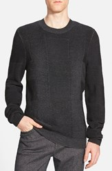 Men's Boss 'Eaton' Regular Fit Merino Wool Crewneck Sweater