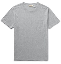 Levi's Melange Cotton Jersey T Shirt Gray