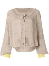 Taylor Situation Two Tone Cardigan 60