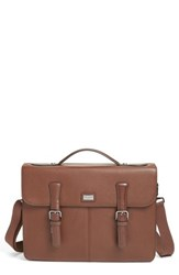 Ted Baker Men's London Bengal Leather Satchel