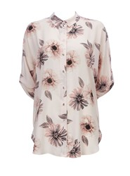 Wallis Blush Floral Printed Shirt