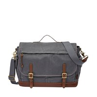 Fossil Mbg9118020 Mens Crossbody Bag Grey