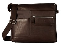 Scully Oakridge Small Workbag Brown Bags