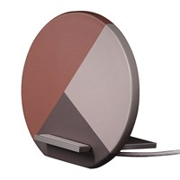 Native Union Dock Marquetry Wireless Charger Rose