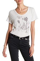 Mother Itty Bitty Goodie Goodie Floral Tee White