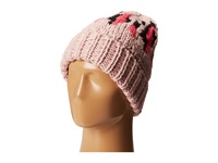 San Diego Hat Company Knh3314 Oversized Cable Knit Beanie With Pattern Multi Pink Beanies