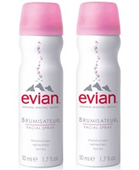 Evian Mineral Water Facial Spray Duo