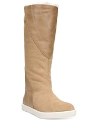 Naya Yuma Cold Weather Tall Boots Women's Shoes Straw