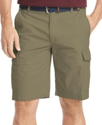 Izod Men's Ripstop Cargo Shorts Mermaid