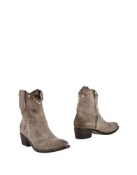 Janet And Janet Footwear Ankle Boots Women Grey
