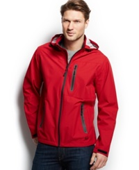 Hawke And Co. Outfitter Waterproof Hipster Hooded Jacket Chile Pepper
