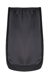 Alexander Wang Satin Midi Skirt Black