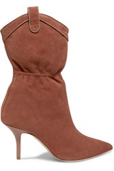 Malone Souliers Emanuel Ungaro Daisy Suede Ankle Boots Tan