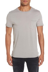Ag Jeans Anders Slim Fit Pocket T Shirt Sun Faded Grey Haze