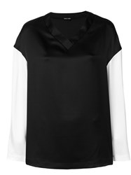 Tom Ford Long Sleeved T Shirt Black