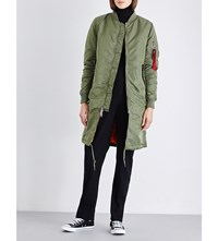 Alpha Ma 1 Shell Coat Sage