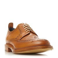 Barker Bailey Leather Lace Up Brogues Tan