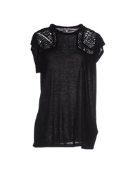 Hoss Intropia Topwear T Shirts Women Black