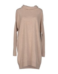 Snobby Sheep Short Dresses Beige