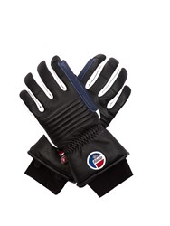 Fusalp Askell Fleece Lined Leather Gloves Black