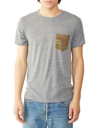 Alternative Apparel Contrast Pocket Tee Grey