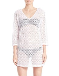 J Valdi Mesh Dress Cover Up
