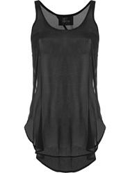 Lost And Found Ria Dunn Slim Fit Tank Top Black