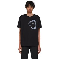 Givenchy Black Snake Pocket T Shirt 001 Black