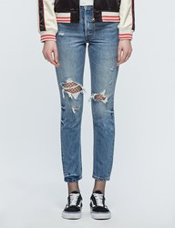 Levi's 501 Skinny Old Hangout Jeans