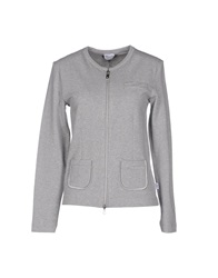 Blugirl Blumarine Beachwear Sweatshirts Light Grey