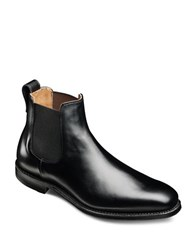 Allen Edmonds Liverpool Leather Slip On Boots Black