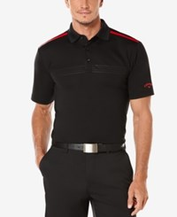 Callaway Men's Performance Embossed Golf Polo Caviar