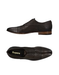 Raparo Lace Up Shoes Military Green