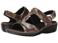 Aravon Collette Ar Brown Print Women's Shoes