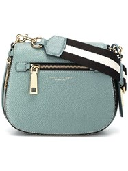 Marc Jacobs Small Gotham Nomad Satchel Bag Blue