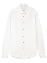 Jigsaw Slim Fit Oxford Shirt White