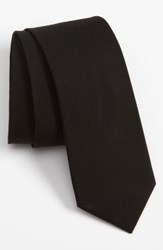 The Tie Bar Men's Solid Cotton Black