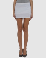 Cnc Costume National C'n'c' Costume National Mini Skirts White