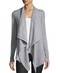 Joie Starley Shawl Collar Cardigan Light Gray