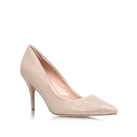 Carvela Grace Fabric Court Shoes Nude