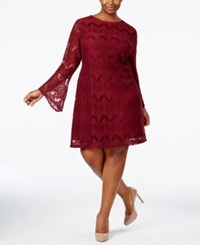 American Rag Trendy Plus Size Lace Shift Dress Only At Macy's Zinfindel
