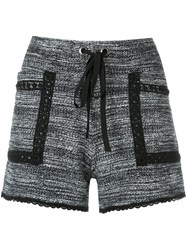Talie Nk Knit Shorts Grey