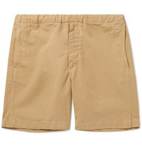 Bellerose Cotton Ripstop Drawstring Shorts Beige