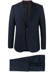 Hugo Boss Check Print Two Piece Suit 60