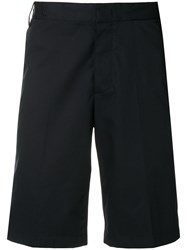 Lanvin Casual Tailored Shorts Blue