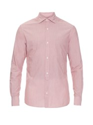 Ermenegildo Zegna Micro Striped Cotton Shirt