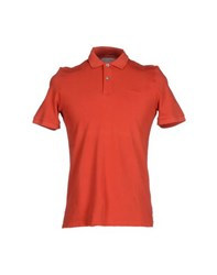 Peuterey Topwear Polo Shirts Men Rust