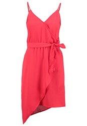 Vero Moda Vmheather Summer Dress Racing Red